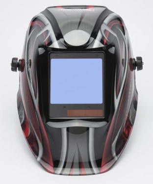 View The Lincoln 3350 Twisted Metal Viking Welding Helmet