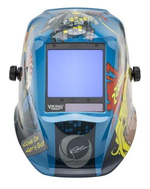 Lincoln K3372-4 Viking® 3350 Jessi Vs. The Robot™ Welding Helmet