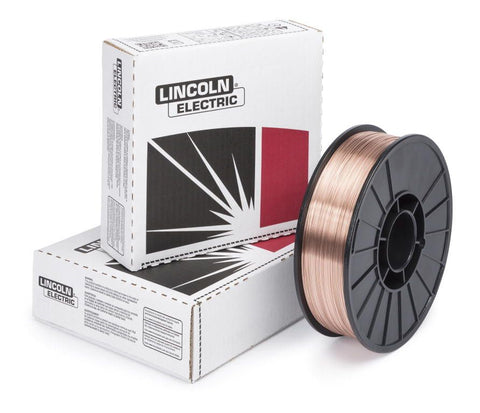 "Lincoln ED015790 SuperArc L-56 .025"" Plastic Spool MIG Wire (12.5lb Spool)"