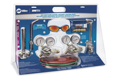 Miller-Smith MB54A-510 Medium Duty Acetylene Toughcut Outfit
