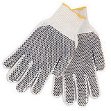 Revco 2118 Cotton/Poly String Knit Industrial Glove w/ Gripping Dots (12 Pair)