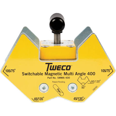 Tweco SMMA400 (9255-1063) Switchable Magnetic Multi-Angle 400 Clamp (1 Clamp)