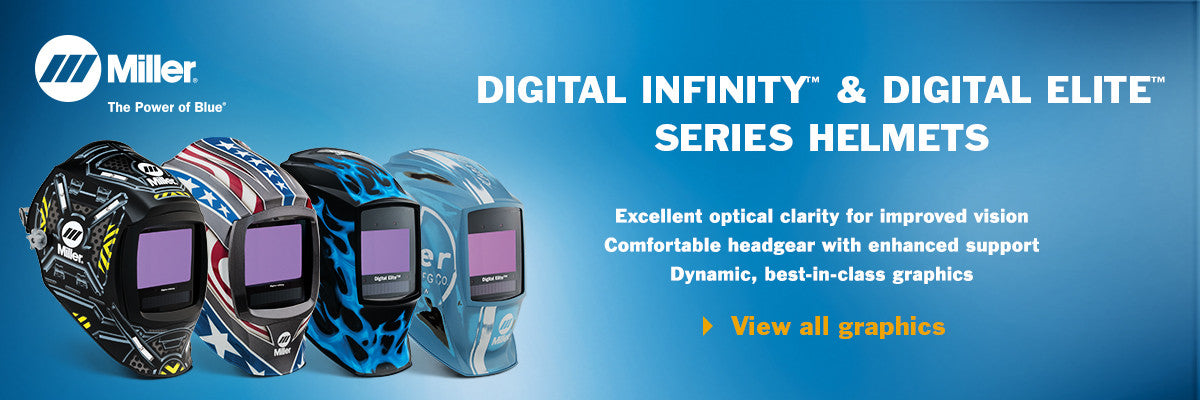 Infinity and Elite Welding Helmets