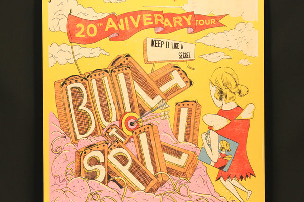 Built To Spill ; Keep It Like A Secret Tour 20th Year Edition