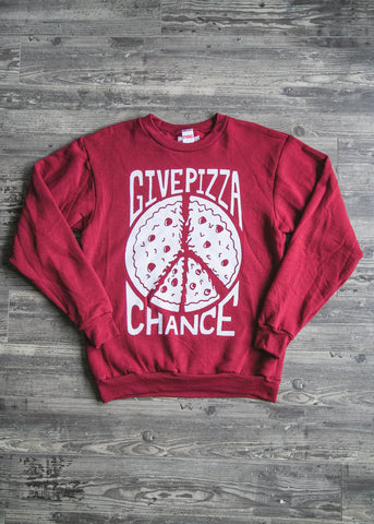 Give Pizza Chance - Crew