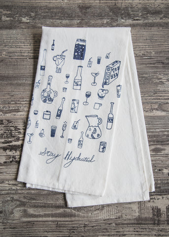 Stay Hydrated Tea Towel