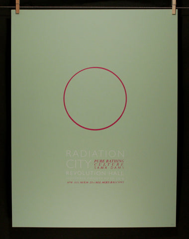 Radiation City Final Show Poster