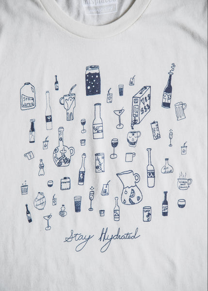 STAY HYDRATED - Men's Tee
