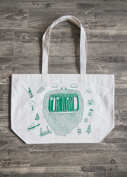 Portland Big Mouth tote