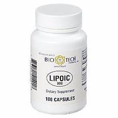 Alpha Lipoic Acid, 300mg, 100 capsules