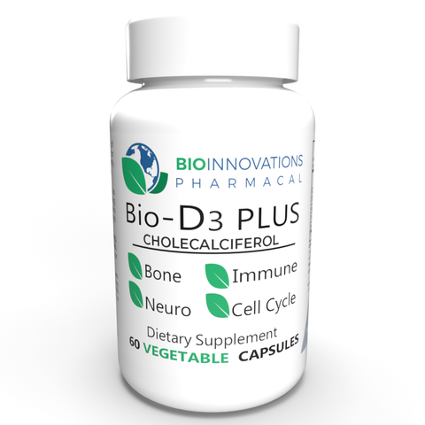 Bio-D3Plus | Vitamin D3 supplement | 60 capsules