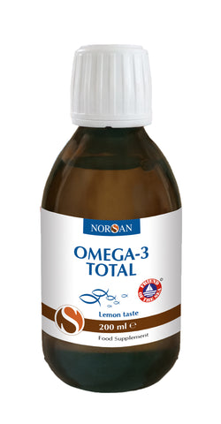 Omega-3 Total Natural Fish Oil, 200mL