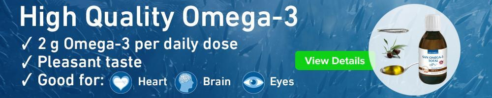 Omega-3 fish oil, High Strength