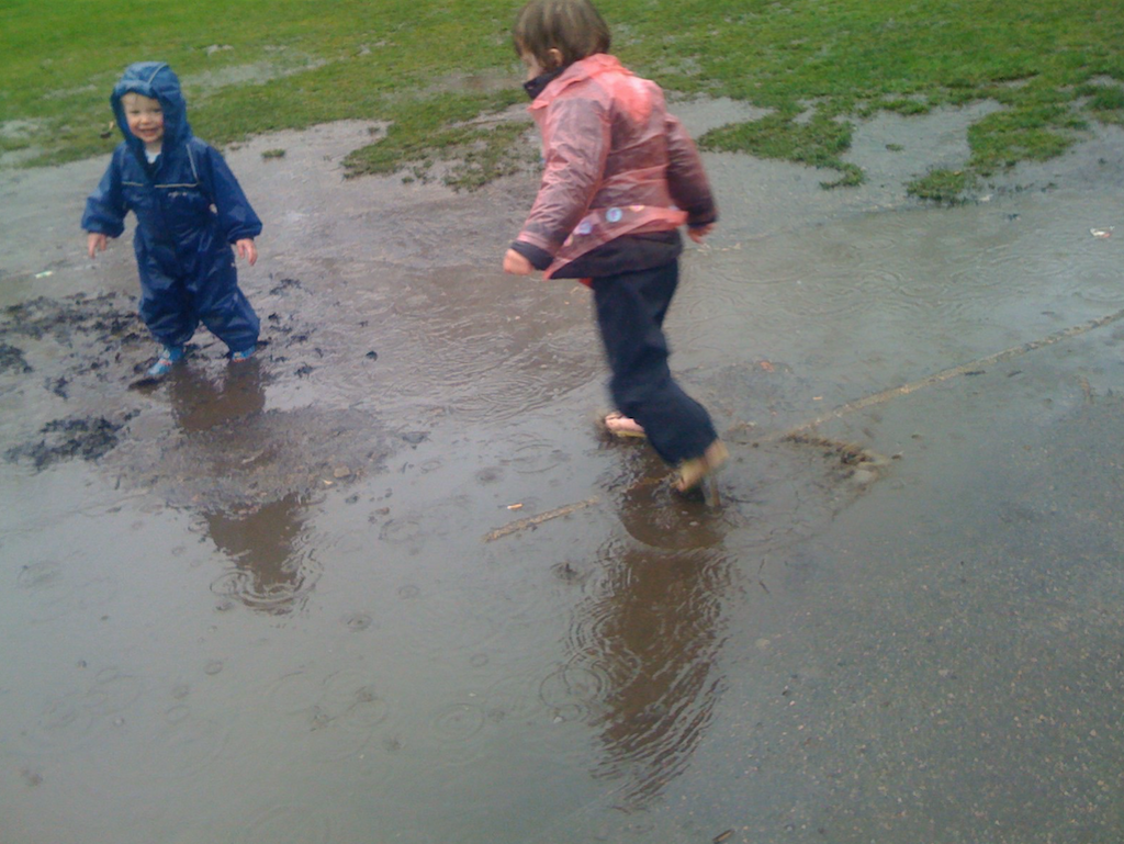 Didn't we have fun the day it rained