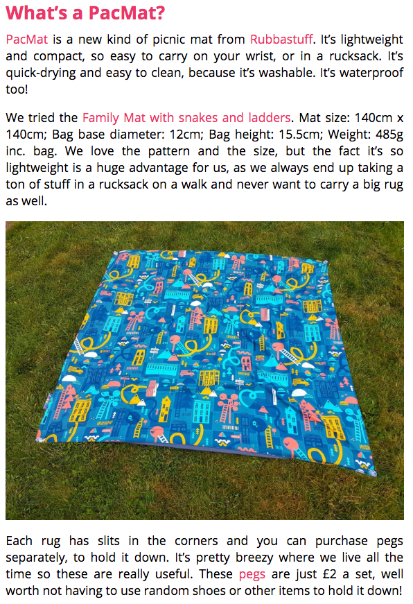 Win a PACMAT with Mummy Fever