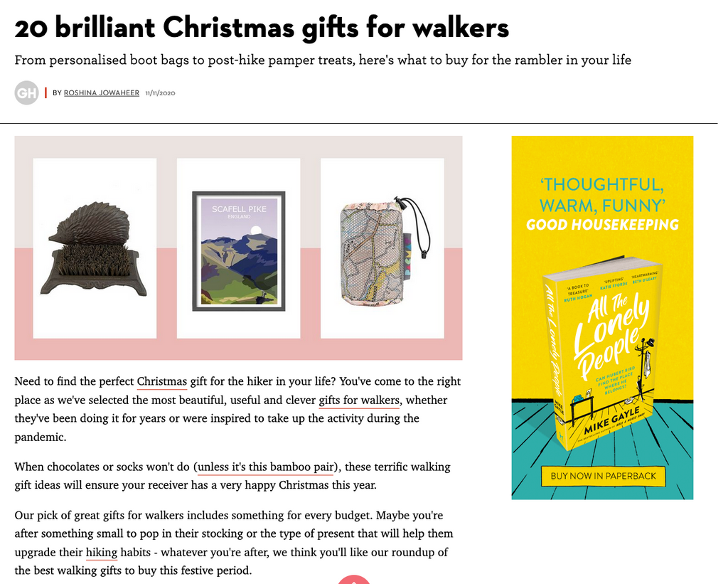 Christmas gifts for walkers
