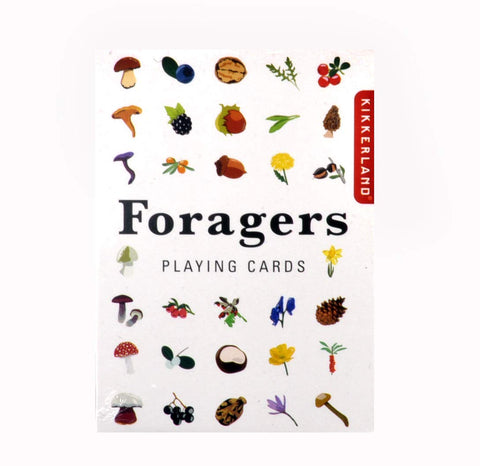 Foraging Playing Cards