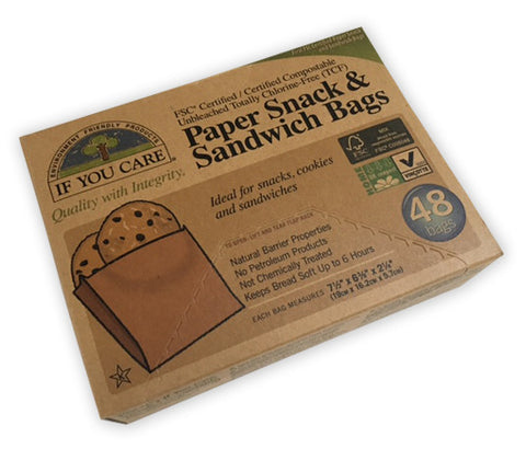 Paper Snack and Sandwich Bags