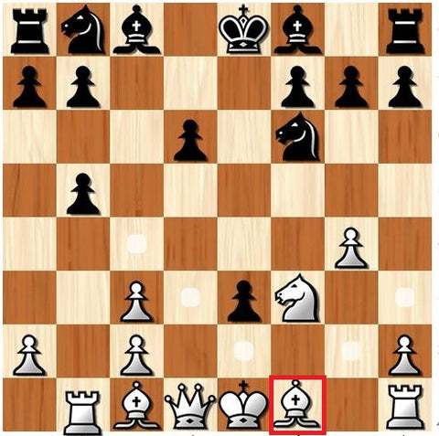 how the bishop moves in chess