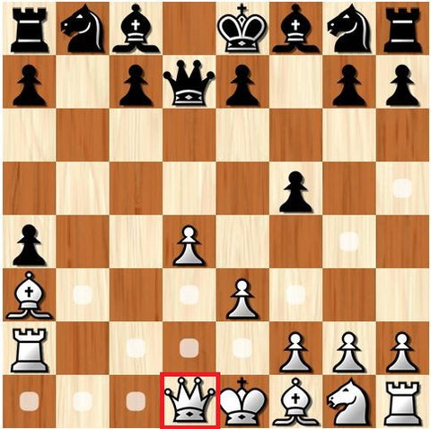 how the queen moves in chess