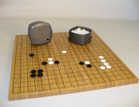 Bamboo Board 7mm Stone Set - ChessWarehouse