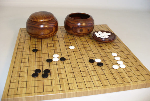Bamboo Go Set - ChessWarehouse