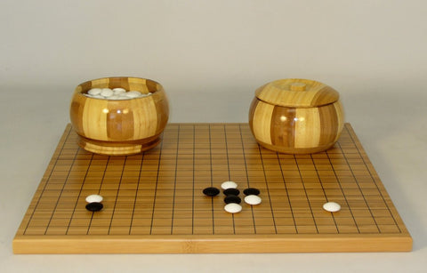 Bamboo Set Heavy stones - ChessWarehouse