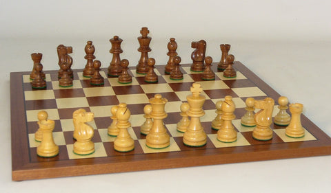 Small Sheesham French-Sapele Set - ChessWarehouse