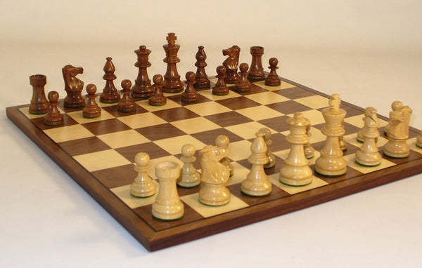 Small Lardy-Walnut Board - ChessWarehouse