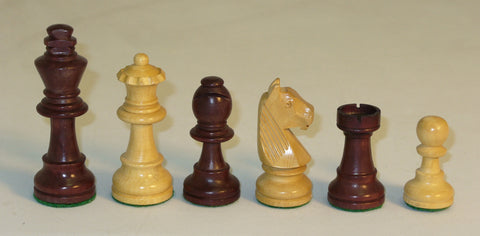 Walnut Stained German Pieces - ChessWarehouse