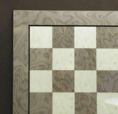 "13"" Grey & Ivory Briar Board - ChessWarehouse"