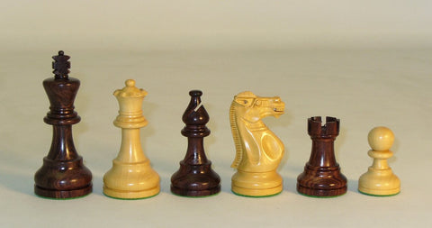 Large Rosewood American Emperor Pieces - ChessWarehouse