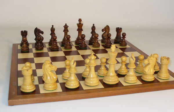 Sheesham Pro on Sapele Board - ChessWarehouse - 1