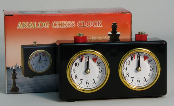 Analog Chess Clock - ChessWarehouse