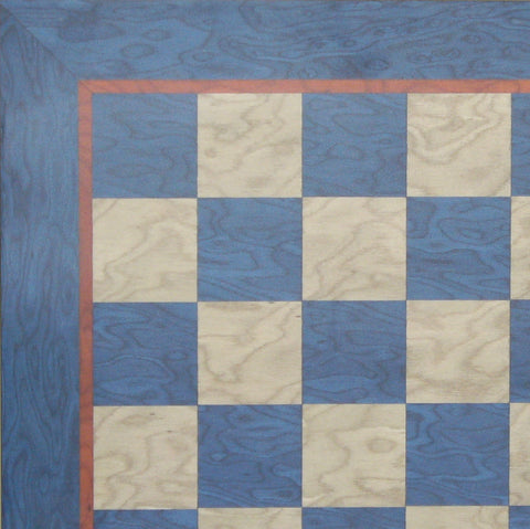 "15.5"" Blue & Grey Veneer Board - ChessWarehouse - 1"