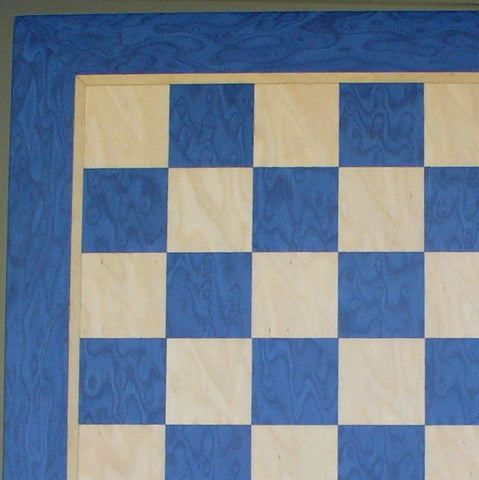 "15.5"" Blue & Tan Veneer Board - ChessWarehouse - 1"