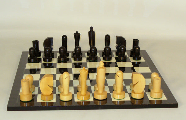 Berliner on Black Geometric Board - ChessWarehouse - 1