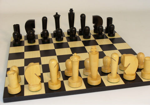 Black Berliner on Black Basic Board - ChessWarehouse - 1