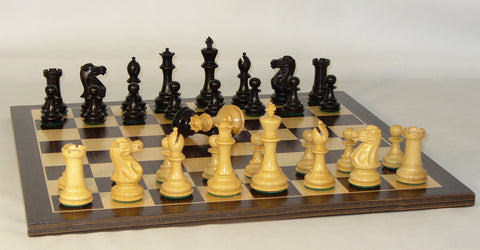 Black New Classic on Ebony Board - ChessWarehouse