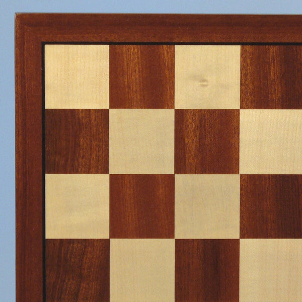 "15"" Sapele & Maple Veneer Board - ChessWarehouse"