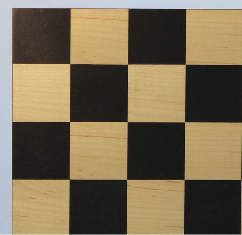 "15.5"" Black & Maple Basic Board - ChessWarehouse"