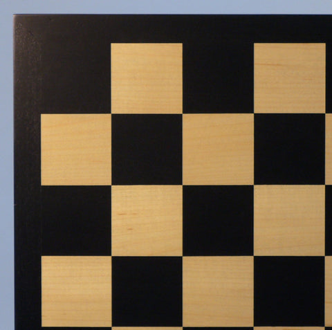 "17.25"" Black & Maple Veneer Board - ChessWarehouse"