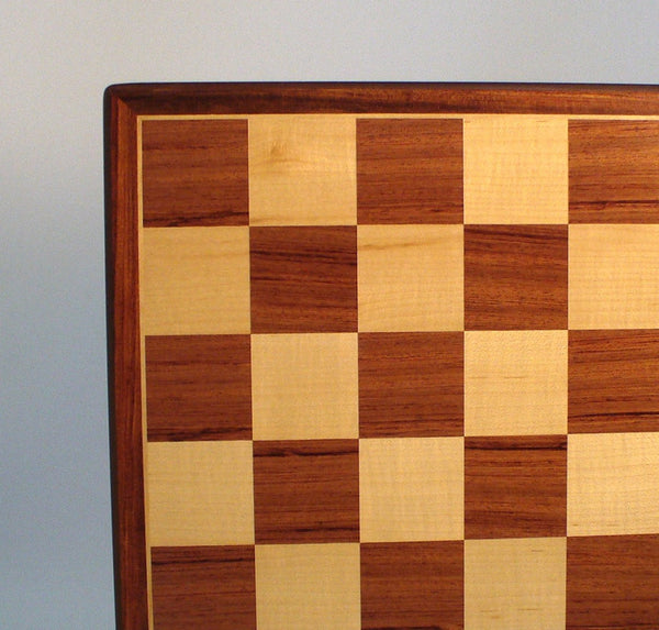 "17"" Padauk & Maple Veneer Board - ChessWarehouse"