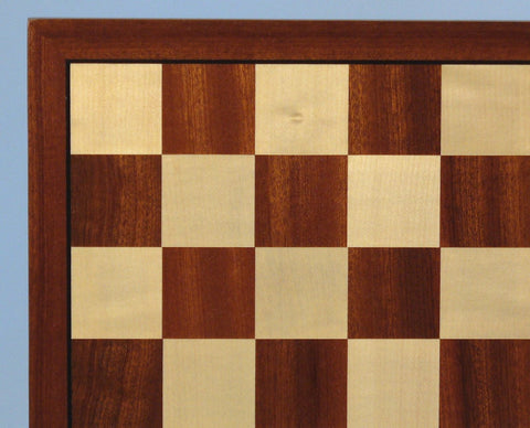 "17"" Sapele & Maple Veneer Board - ChessWarehouse"