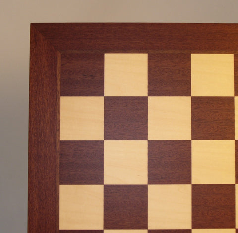 "21"" Mahogany and Maple Board - ChessWarehouse - 1"