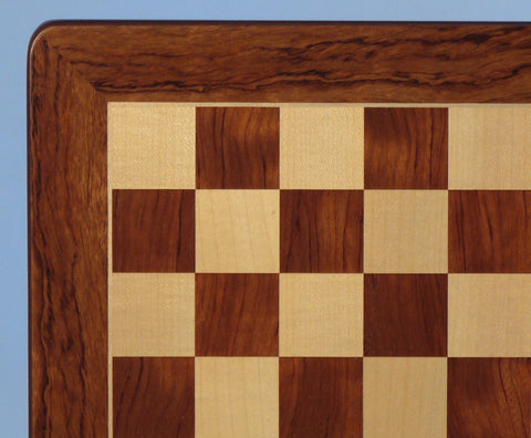 "21"" Padauk & Maple Veneer Board - ChessWarehouse - 1"