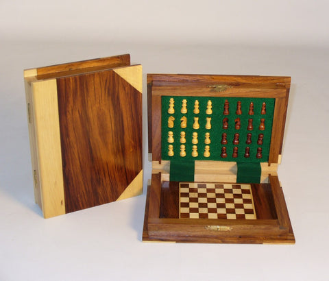 Wood Book Style Magnetic Chess - ChessWarehouse