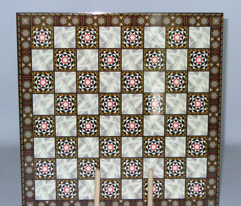 Mosaic Design Decoupage Board - ChessWarehouse