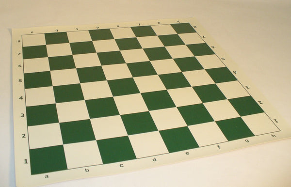 "20"" Vinyl Tournament Chess Mat - ChessWarehouse - 1"