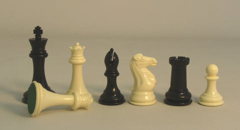 "4"" Triple Tournament Chessmen - ChessWarehouse - 1"